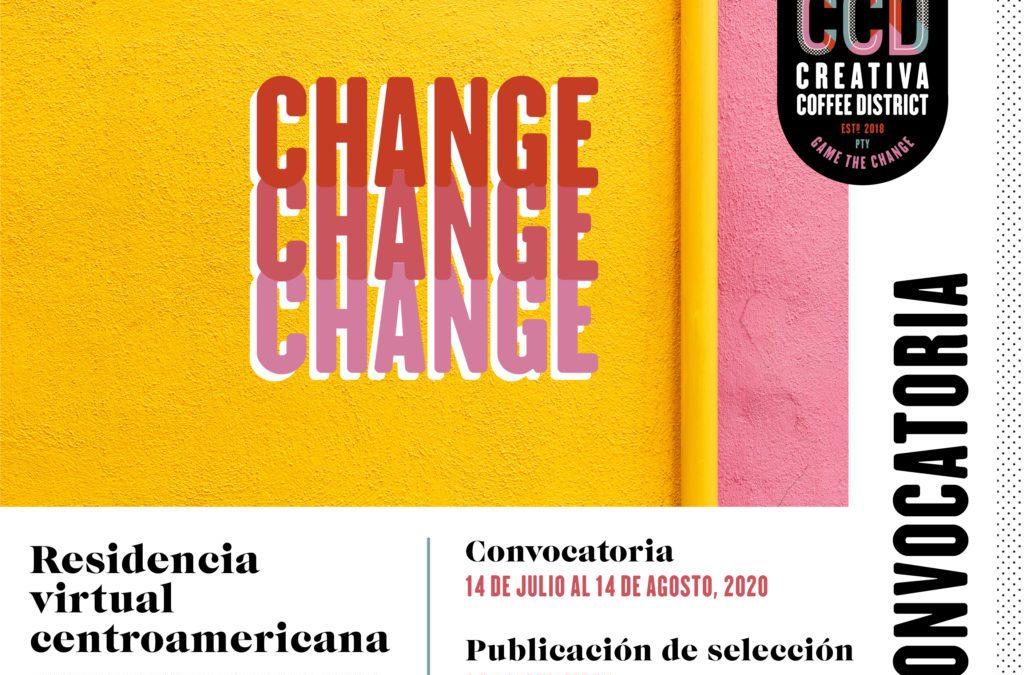CONVOCATORIA DE RESIDENCIA PARA ARTISTAS CENTROAMERICANOS